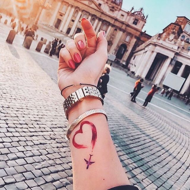 31 Small Travel Tattoos Ideas You Should Get Now Pagina 3 Di 7