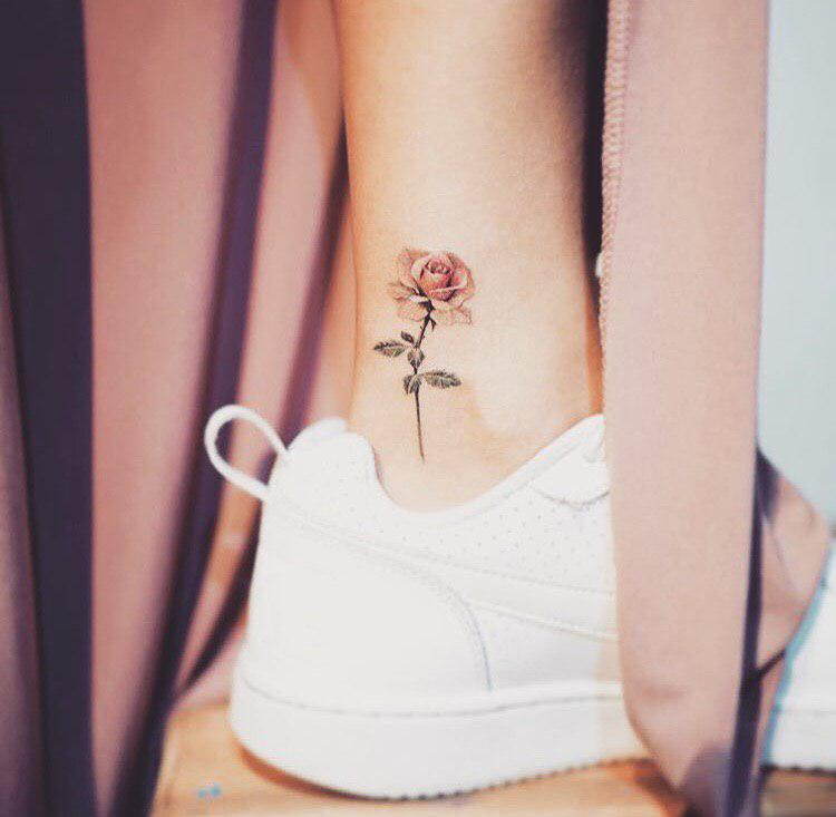 65 Small Ankle Tattoos Ideas For Girls Tiny Tattoo Inc