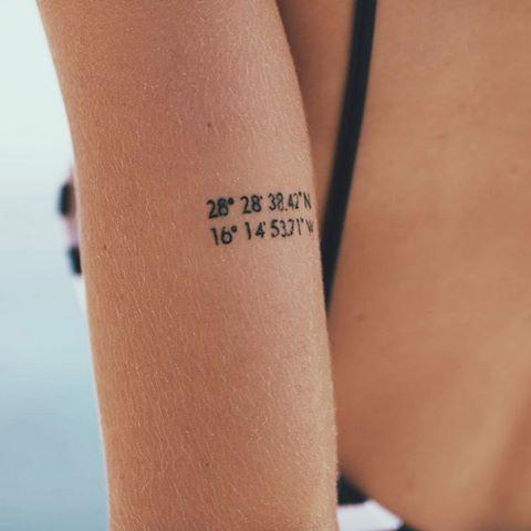 coordinate tattoo