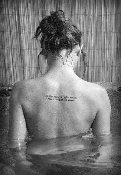 back tattoos for girls