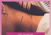THE Small Tattoo on Neck Collection You Need NOW!.