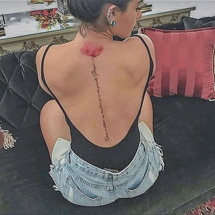 back tattoos for ladies