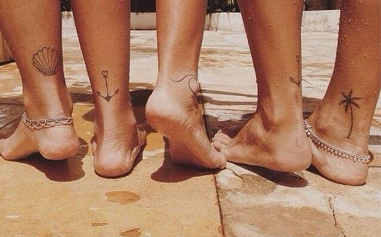 friendship summer tattoos ideas