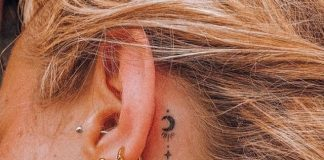 cute behind the ear tattoos you won't find anywhere