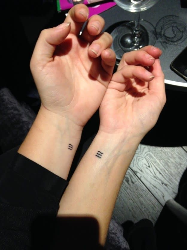 18 Stunning Small Tattoos for Couples truly in love | Tiny ...