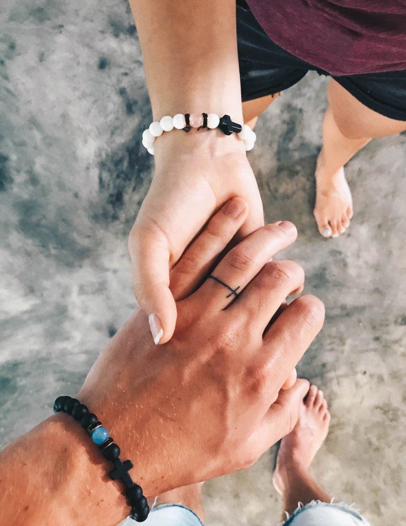 unconditional love wedding ring tattoos